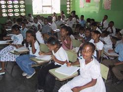 Dominican Republic classroom